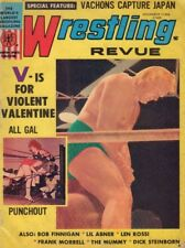 Wrestling Revue Magazine Violent Valentine & Bob November 1971 031418nonr