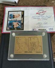 Highland Mint Limited Edition Bronze Nolan Ryan 1993 Pinnacle Card #3852 of 5000