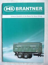 0259) BRANTNER Agrarkipper - Prospekt Brochure 01.2010
