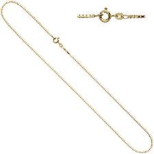 Halskette Venezianerkette 585 Gold Gelbgold Kette Federring 1,0 mm 45 cm 42851