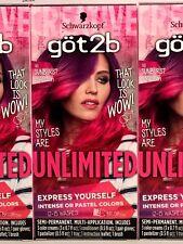 Got2B UNLIMITED Semi-Permanent Hair Color 110 SUNBURST Collection 12 - 15 Washes