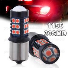 2pcs BA15S P21W 1156 Red Car Tail Stop Brake Light Super Bright 30SMD LED Bulb