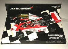 Minichamps F1 1/43 McLAREN FORD M23 HUNT JAPAN GP 1976 - RAIN TYRES - Limited Ed