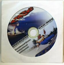 CARVEBOARD DVD-MOVIE, DEMO INSTRUCTIONALS & RIDING TIPS WITH 13 CHAPTERS, NEW!