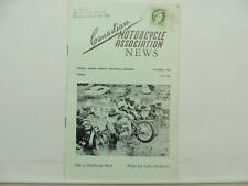 Triumph Greeves Scrambles Canadian Motorcycle Association News Brochure L6695