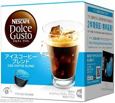 Nescafe Dolce Gusto Capsul Ice coffee blend 8 cups from Japan