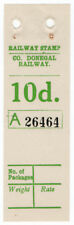 (I.B) County Donegal Railway : Parcel Stamp 10d