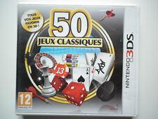 50 Jeux Classiques Jeu Vidéo Nintendo 3DS