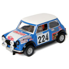 Slot Car Scalextric Mini Cooper Reverter Montecarlo #224 SCX 1/32 A10193