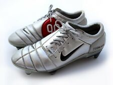 Nike Zoom Air Total 90 III Vintage 2004 Silver Red Football Boots Cleats - UK 11