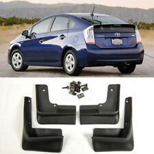 4 Pieces OE Set Front Rear Splash Mud Guards Flap Kit For 2010-2015 Toyota Prius