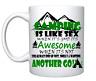 CAMPING VW TENT Funny Printed Cup Ceramic Mug Funny Gift boyfriend husband