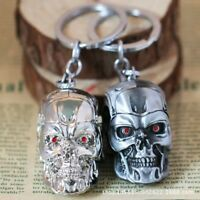 3D Skull Head Mask Key Chains Keyrings Punk Skull Keychain Chaveiro Key Holder
