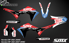 2018 2019 Honda CRF450 CRF 250 SMX motocross graphics kit decals stickers 2017