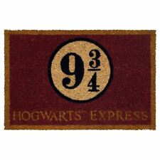 Official Harry Potter Platform 3/4 Hogwarts Express Design Doormat