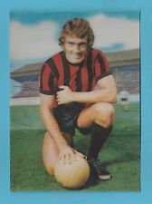 THE  SUN - RARE  3D  FOOTBALL  CARD -  TED  MACDOUGALL  OF  BOURNEMOUTH  - 1972