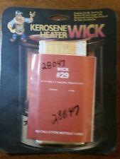 Kero World Part Number 28047 Replacement Wick for Kerosene Heater