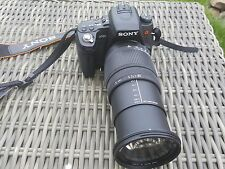 Sony Alpha 580 a580 chassis Body, OVP, Full-HD, + 18-250 SIGMA