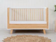 Aspen Cot Toddler Bed Conversion - Natural | Nursery Furniture Cots
