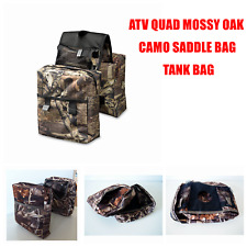 ATV Snowmobile Scooter Motorcycle Dirt Pit Quad Bike Tank Saddle Bag CAMO mossy