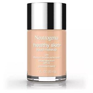 Neutrogena Healthy Skin Liquid Makeup Foundation Caramel 105 . 1oz SPF 20 2/Pk