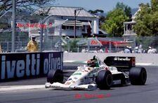 Piercarlo Ghinzani Toleman TG185 Australian Grand Prix 1985 Photograph 1