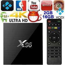 Android Box X96 S905X 4K*2K Smart TV BOX Quad-Core 2/16GB WIFI Media Player