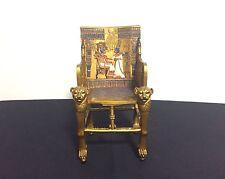 Egyptian King Tutankhamen Golden Throne (Veronese 2001)