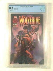 Wolverine RARE special 102.5 Marvel comic Graded 8.5 by CBCS 1996