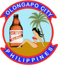 OLONGAPO CITY,PHILIPPINES ,GIRL IN  RED BIKINI, SAN MIGUEL BEER