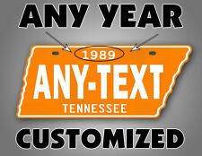 Antique Tennessee License Plate BIG ORANGE VOLS Replica TN Auto Tag Volunteers!!