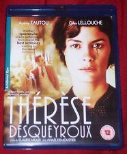 THERESE DESQUEYROUX Audrey Tautou Gilles Lellouche BLU-RAY