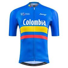 2021 Colombian Federation Performance Womens Short Sleeve Cycling Jersey