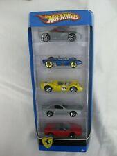 Hot Wheels 2007 5x Pack Ferrari Mint In Card