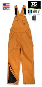 TGB520 Men's Traditional Insulated Duck Bib Overall NEW w/ Tag