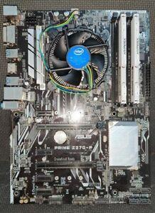 Intel Core i5-6600K, Asus Prime Z270-P, 16GB Kingston HyperX Fury DDR4 RAM