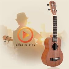 21 Inch High Quality Musical Wood Material Instrument Soprano Ukulele LU