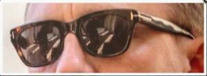 Tom Ford Snowdon TF 237 52N James Bond Spectre Dark Havana Sunglasses 52mm