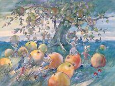 Fantasy Children - Joyce Plumstead Land (1907-86) Original Watercolour Drawing