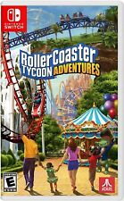 NINTENDO SWITCH - ROLLERCOASTER TYCOON: ADVENTURES BRAND NEW SEALED