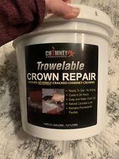 ChimneyRx Trowelable Crown Repair 2-gal