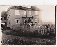 Altes Foto Kindstaufe in Deckbergen 1926 Gruppenbild Rinteln Niedersachsen