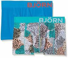 Bjorn Borg 2 Pair Shorts Painted Animal Large TD097 FF 13