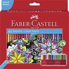 Faber-Castell Lápices De Colores (paquete de 60)