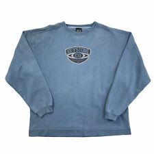 Retro Ouray Keystone Sportswear Herren blau Rundhals Sweatshirt Größe Extra Large