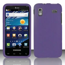 For Samsung Captivate Glide i927 Rubberized HARD Case Snap Phone Cover Purple