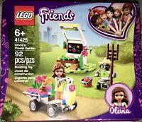 NEW LEGO Friends 41425 Olivia's Flower Garden 92-Pcs. Kit in Box Pet Rumble ~ 6+