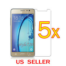 5x Clear LCD Screen Protector Guard Cover Film For Samsung Galaxy On5