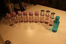 Lot of 9 bottles of Clinique 1.7 oz make up remover and 1 bottle 2 oz eye solvnt