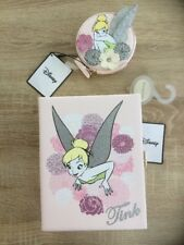 PRIMARK DISNEY BLUSH NUDE TINKERBELL BOOK CLUTCH SHOULDER BOX BAG COIN PURSE NEW